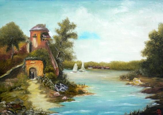 Sergei Nikolayevich Khodorenko-Zatonsky. Dutch landscape