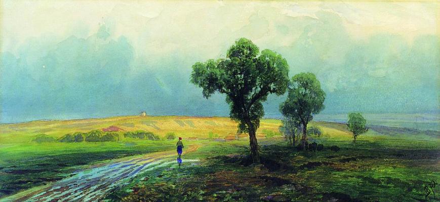 Фёдор Александрович Васильев. После проливного дождя