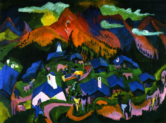 Ernst Ludwig Kirchner. The return of the animals