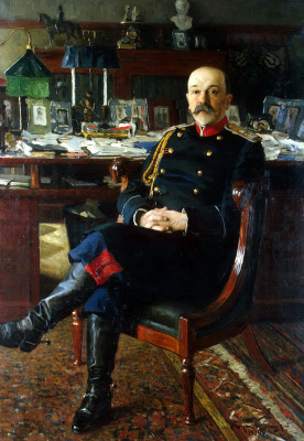 Николай Петрович Богданов-Бельский. Портрет генерал-адъютанта Гессе