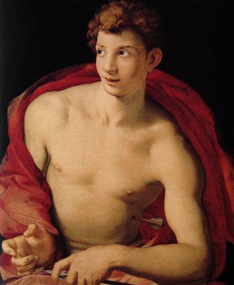 Agnolo Bronzino. Saint Sebastian