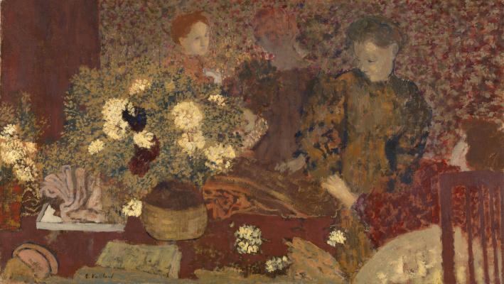 Jean Edouard Vuillard. Clay pot