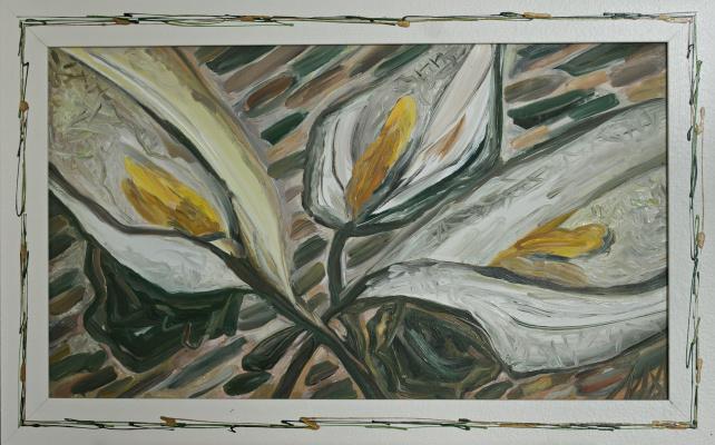 "Agnessa Morkovina. ""Three lilies"""