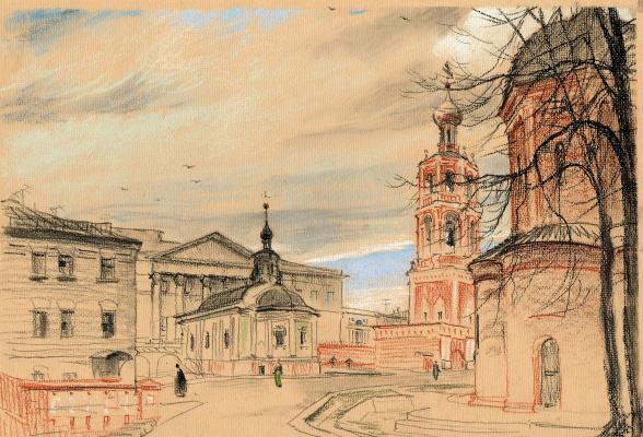 Андрей Ноаров. Высоко-Петровский монастырь.