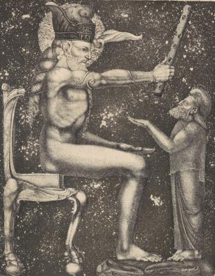 Ernst Fuchs. Samson, judge of Israel