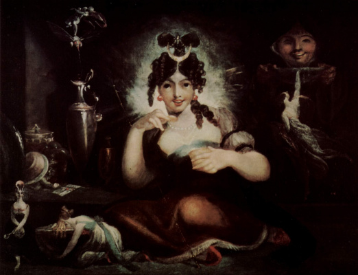 Johann Heinrich Fuessli. Queen MAB of the fairies