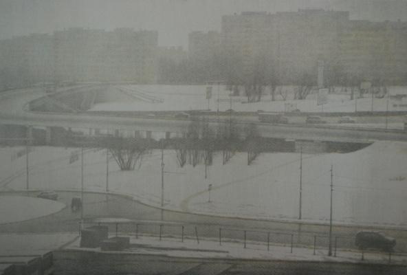 Eric Vladimirovich Bulatov. Moscow morning