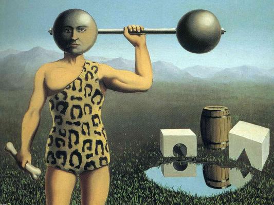 René Magritte. Eternal engine