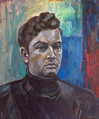 Marat Savelievich Gogaev. Self-portrait