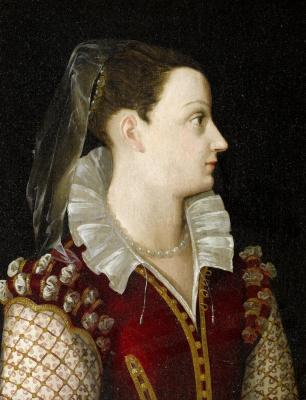 Alessandro Allori. Portrait of a lady.