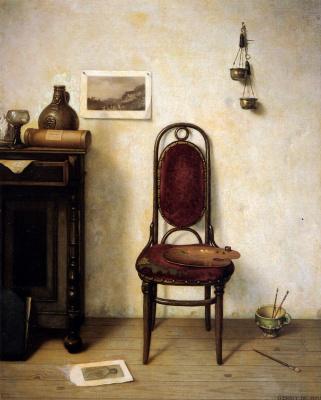 Джонг де Геррит. Стул у стены