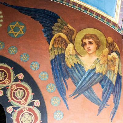 Wilhelm Kotarbinsky. Seraphim. The painting of the Vladimir Cathedral in Kiev
