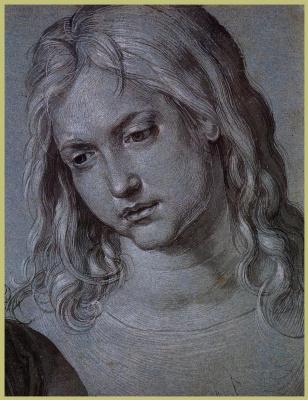 Альбрехт Дюрер. Портрет молодого Иисуса