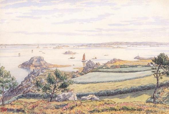 Анри (Henri) Ривьер (Rivière). Июль - Логиви (Juillet - Loguivy)