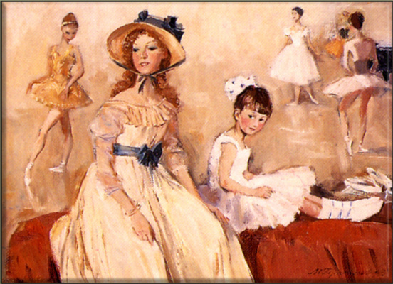 Mikhail Mikhailovich Gerasimov. Ballet ladies