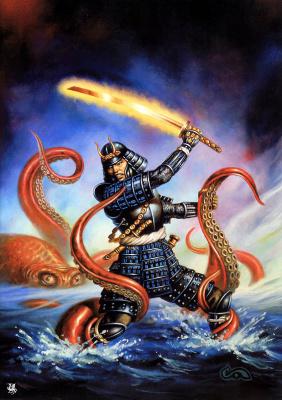 Клайд Колдуэлл. Молодой самурай