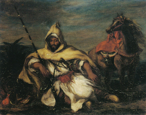 Эжен Делакруа. Марокканец из императорского караула