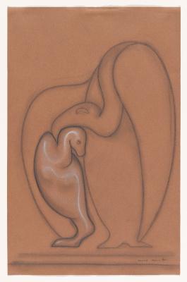 Max Ernst. Plot 97