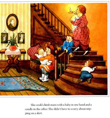 Мэри Де Нил Морган. Мать на лестнице
