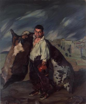 Ignacio Suloaga. Dwarf gregorio