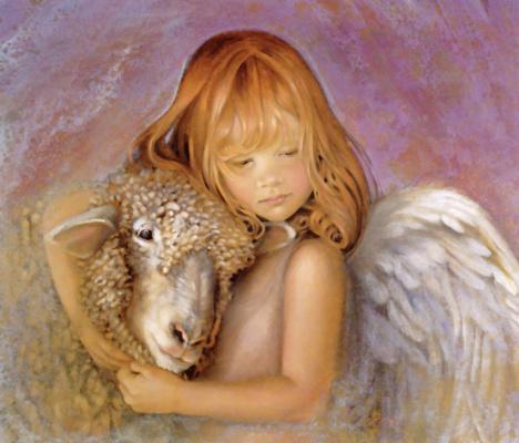 Nancy Noel. Autumn angel