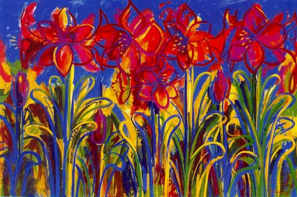 Франциска Муньос. Цветы