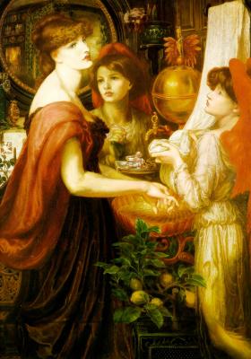 Dante Gabriel Rossetti. Beautiful hands