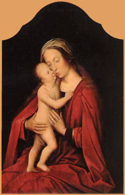 Адриан Изенбрант. Дева и дитя