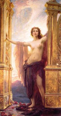 Herbert Draper. Aurora opens the gates of dawn