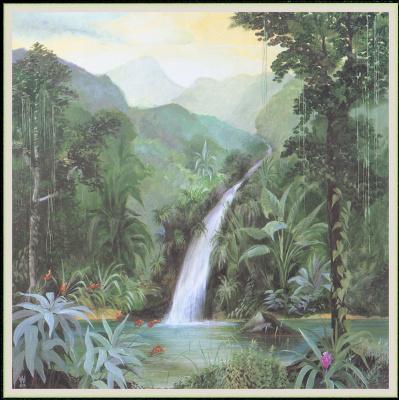 Уильям Вуд. Тропический водопад