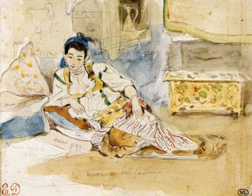 Eugene Delacroix. Munay bin Sultan
