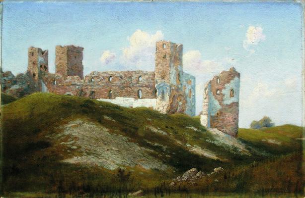 Gabriel Pavlovich Kondratenko. Ruins. The old fortress