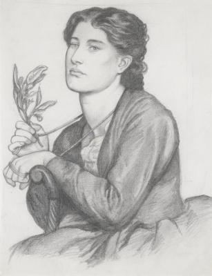 Dante Gabriel Rossetti. Branch of Laurel
