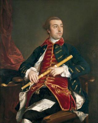 Thomas Gainsborough. William Wollaston