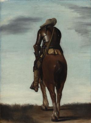 Gerard Terborch (ter Borch). Man on Horseback
