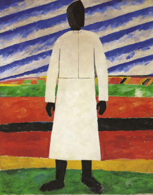 Kazimir Malevich. The woman