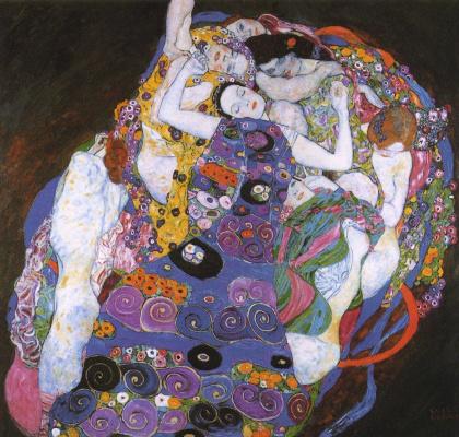 Gustav Klimt. Virgo