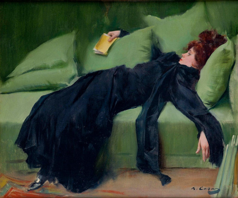 Ramon Casas i Carbó. After dance