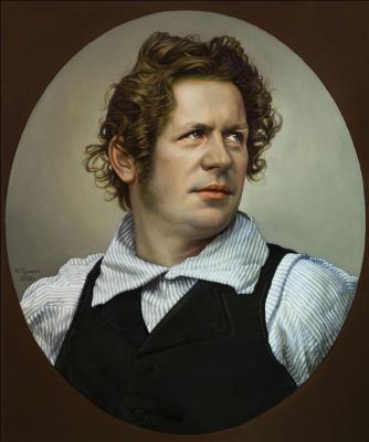 Sushienok64 @ mail.ru Mikhailovich Sushenok Igor. Portrait of Karl Bryullov