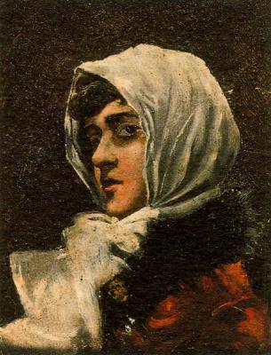 Франсиско Боннин. Портрет женщины в косынке