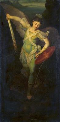 Vladimir Lukich Borovikovsky. The Archangel Michael
