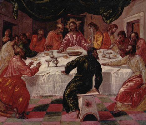 Domenico Theotokopoulos (El Greco). The last supper