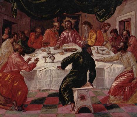 Domenico Theotokopoulos (El Greco). The last supper