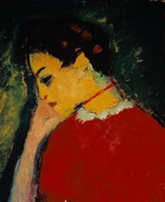 Alexey Georgievich Yavlensky. Female portrait