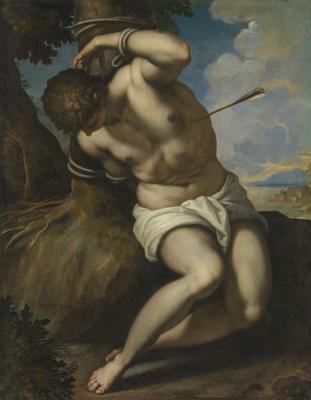 Jacopo Palma Junior. Saint Sebastian