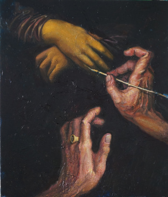 """Оксана Кокорина. Series """"Hands of the Great. Leonardo"""""""