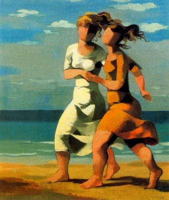 Мануэль Руис Пипо. Пробежка по пляжу