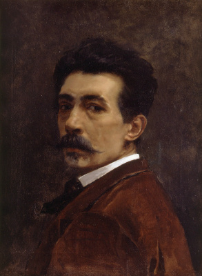 Хуан Хоакин Аграсот. Автопортрет