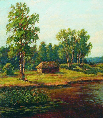 Efim Efimovich Volkov. House on the edge