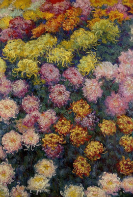 Claude Monet. Chrysanthemum